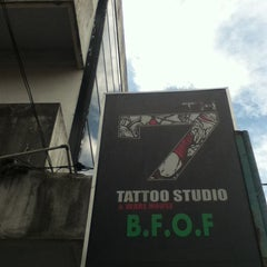 Photo taken at RAVENTH Tattoo Studio by Ifirt F. on 1/30/2013