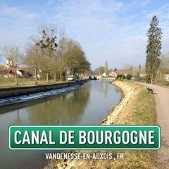 Photo taken at Canal de Bourgogne by Philippe P. on 3/5/2013