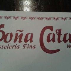 Photo taken at Pasteleria Doña Cata by Constanza A. on 8/10/2013