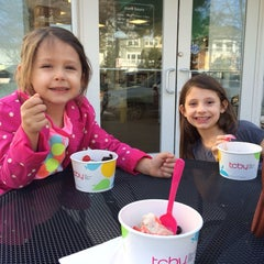 Photo taken at TCBY by Melisa S. on 2/23/2014