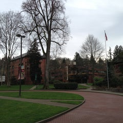 Photo taken at Seattle Pacific University by Jason B. on 3/14/2013