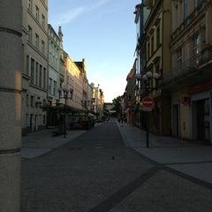 Photo taken at Ostrožná | Pěší zóna by Přemysl B. on 6/13/2013