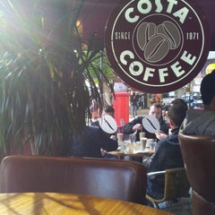 Photo taken at Costa Coffee by Ian M. on 10/14/2012