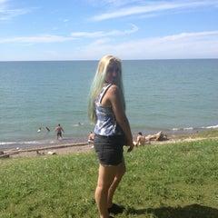 Photo taken at Lake Erie by Sierra K. on 7/30/2015