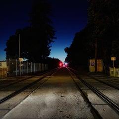 Photo taken at Menlo Park Caltrain Station by Josh W. on 6/23/2015