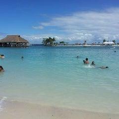 Photo taken at Bluewater Maribago Beach Resort by Rhadine P. on 3/31/2013