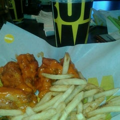 Photo taken at Buffalo Wild Wings by Mrs. V. on 10/8/2012