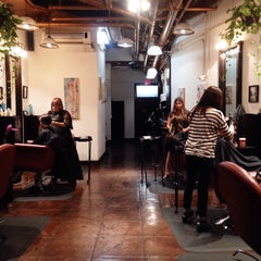 Photo taken at Salon Pure by Kristen B. on 11/15/2014