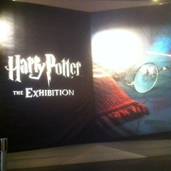 Photo taken at Harry Potter: The Exhibition by Elliott L. on 3/28/2013