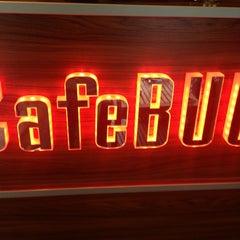 Photo taken at Cafe BUU by Kaffecii on 4/15/2013