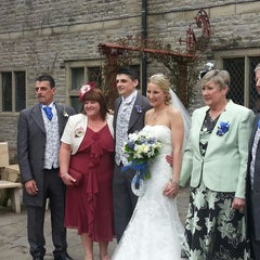 Photo taken at Miskin Manor Hotel by Malcolm P. on 3/31/2013