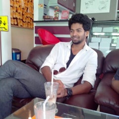 Photo taken at Coffee Cube by Karthik R. on 3/16/2013
