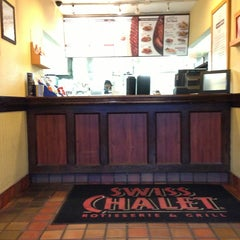 Photo taken at Swiss Chalet by Stuffy M. on 5/23/2013