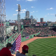 Photo taken at Fenway Park by Rebecca M. on 7/4/2013
