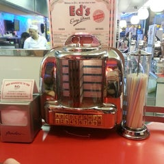 Photo taken at Ed's Easy Diner by Kim E. on 3/21/2013