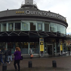 Photo taken at Queen Square Bus Station by zanna A. on 11/8/2014