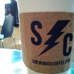 Photo taken at Sidewinder Coffee + Tea by Kevin M. on 2/9/2013