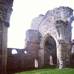 Photo taken at Leiston Abbey by Daniel V. on 8/24/2014