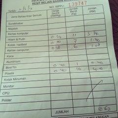 Photo taken at Pusat Kitar Semula Komuniti Presint 9 by Agatha A. on 3/2/2014