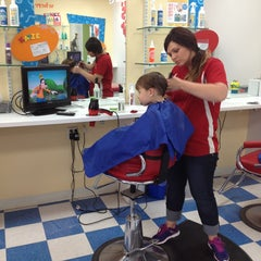 Photo taken at Kids' Hair by Margaret T. on 6/14/2013