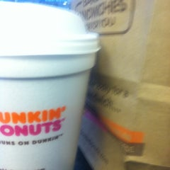 Photo taken at Dunkin' Donuts by bartend4fun on 2/4/2013
