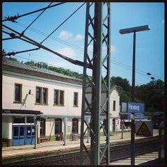 Photo taken at Bahnhof Pinneberg by David S. on 6/20/2013
