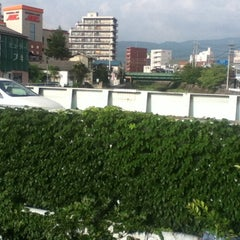 Photo taken at 白板橋 by Hiroshi T. on 7/25/2012