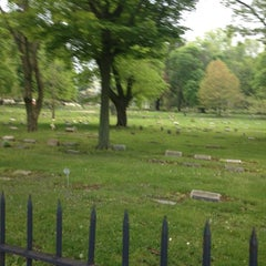 Photo taken at Erie Cemetery by Anthony P. on 5/3/2012