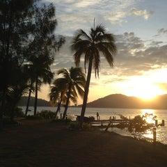 Photo taken at Marina Island by Ajla Wasla M. on 5/11/2013