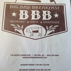 Photo taken at Big Bad Breakfast by Erika H. on 11/1/2012
