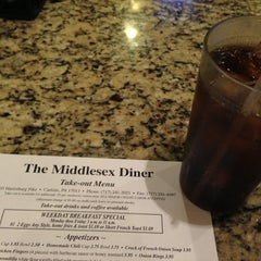 Photo taken at The Middlesex Diner by Erika H. on 11/4/2012