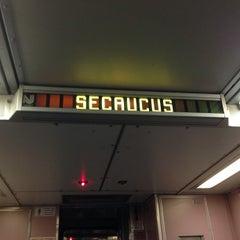 Photo taken at NJ Transit Waiting Area by Erika H. on 9/19/2013