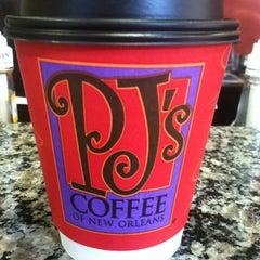 Photo taken at PJ's Coffee by Julie C. on 1/31/2013
