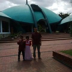 Photo taken at Masjid Jami' Al-Baitul Amien Jember by Wahyu Eka D. on 7/28/2014