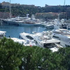 Photo taken at Port Palace Hotel Monte Carlo by Travis M. on 6/9/2014
