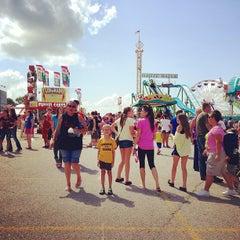 Photo taken at Ozark Empire Fairgrounds by Julie T. on 7/31/2013