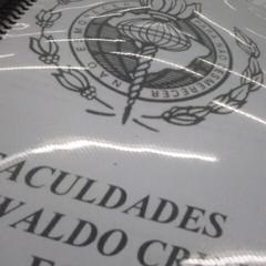 Photo taken at Faculdades Oswaldo Cruz by Bárbara P. on 4/5/2013