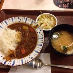 Photo taken at すき家 鹿児島下荒田店 by 123kmorita !. on 3/26/2014