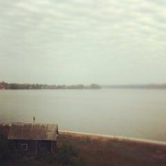Photo taken at Набережная Воткинского пруда by Владимир . on 9/16/2013