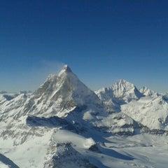 Photo taken at Matterhorn Glacier Paradise by Petra B. on 2/15/2013