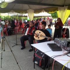Photo taken at Masjid Nurul Iman Serendah by Mohd Syafiq A. on 1/14/2014