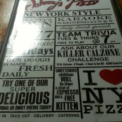 Photo taken at Johnny's New York Style Pizza by Bunny R. on 2/2/2013