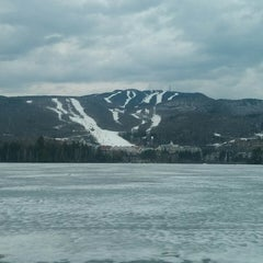 Photo taken at Mont Tremblant by Andreas S. on 4/14/2014