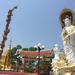 Photo taken at วัดท่าตอน by Mixkii Y. on 5/1/2015