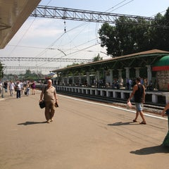 Photo taken at Станция «Одинцово» by Катюня 🎀 М. on 6/28/2013
