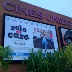 Photo taken at Cines Unidos by Joel L. on 9/13/2012