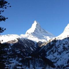 Photo taken at Matterhorn Glacier Paradise by Cameron G. on 2/16/2013