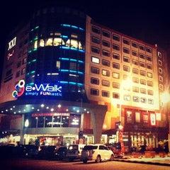 Photo taken at e-Walk by Rais S. on 2/22/2013
