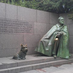 Photo taken at Franklin Delano Roosevelt Memorial by Jem E. on 8/3/2013