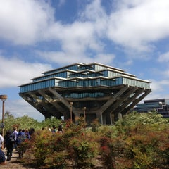 Photo taken at Geisel Library by Olivia G. on 4/2/2013